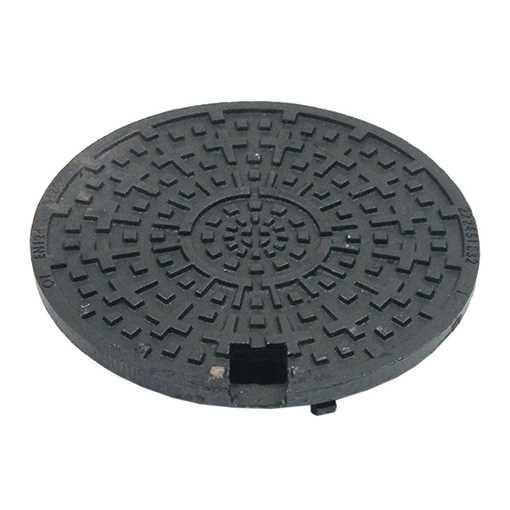 Her finder du 315mm 1,5 t dæksel. Dæksel er forsynet med 2 stk. låsearme for siking af dækselet.