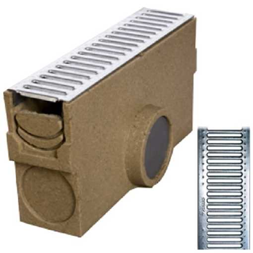 Oldebjerg Drain Self 100 bladfang H60-100 m/ 6mm rist 1,5t