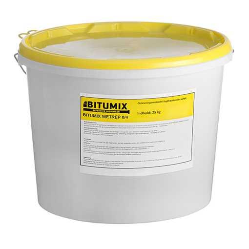Bitumix Wet-Rep koldasfalt 25 kg spand