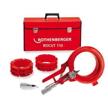 Rothenberger Rocut 110 plastrørskærersæt i kuffert