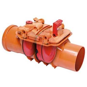 Højvandslukke til ikke-fækalieholdigt spildevand.