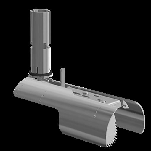 Nordisk Innovation rottespærre 100/110mm t/ strømpeforet rør