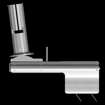 Nordisk Innovation rottespærre konisk 100/110 mm TX11