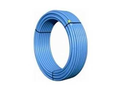 PE-rør 40 x 3,7 mm blå PN10 PE80 SDR11 100m rulle
