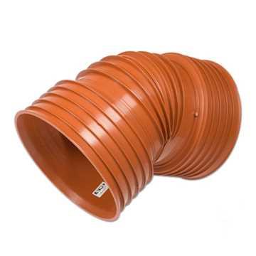 Kaczmarek K2 kloakbøjning PP 300 mm x 30° Ekskl.  kloak vinkel kloak grenrør pp kaczmarek 300mm