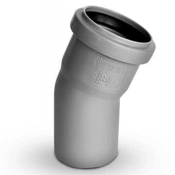 Plastafløbsbøjning 50 mm x 88° i grå.<br><br>Anvendes til tilslutning af køkkenvask, håndvask, vaske