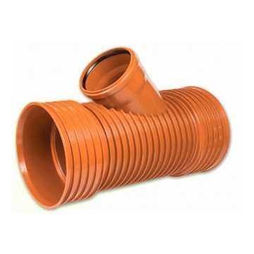 Kaczmarek K2 kloakgrenrør PP 250 x 160 mm 45°med glat PVC spids.