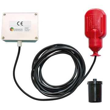 OT GSM VA-alarm m/10 års batteri u/abonnement m/niveauvippe m/5 meter kabel