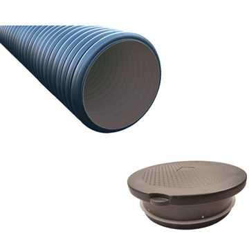 Tilbehørpakke til OT minirensningsanlæg. Består af Oldebjerg NEO opføring VS20 inkl. tætningsring (R