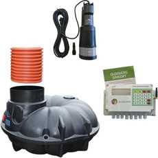 Billede til varegruppe Regnvandsanlæg til hus
