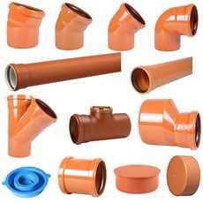 Billede til varegruppe Kloakrør og fittings PVC og PP