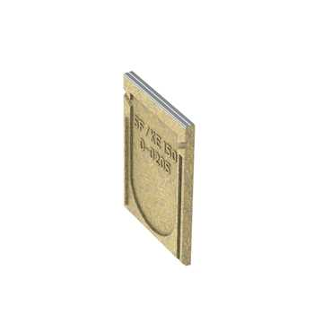 KE-150 Lukket endebund dor Nr. 0-0205