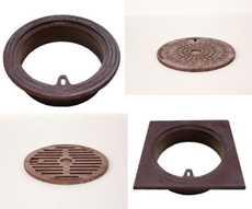 Billede til varegruppe Rørbrøndkarme,-dæksler, -riste